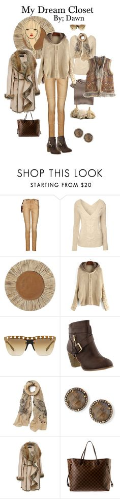 """My dream closet"" by dawn-lindenberg ❤ liked on Polyvore featuring Ralph Lauren Blue Label, Jane Norman, Pier 1 Imports, Prada, Margo Morrison New York, Black Rivet, Louis Vuitton, Calypso St. Barth, women's clothing and women"
