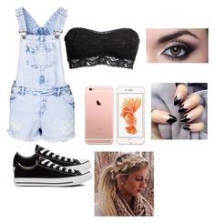 """A day at the mall"" by mireyac05 ❤ liked on Polyvore featuring beauty, New Look, Converse and H&M"