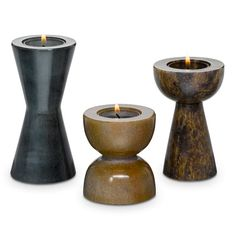 Brighter Home™ by PartyLite Soapstone Tealight Holder Set Bougie Partylite, Candle In The Wind, Bright Homes, Massage Room, Soapstone, Tea Light Holder, Wood Turning, Home Decor Items, Scented Candles