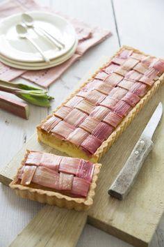 Découvrir la recette de la tarte à la rhubarbe