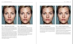 """Brows! step by step by Rae Morris, from her lates book """"Makeup Masterclass"""""""