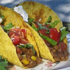 """Tasty Lentil Tacos 