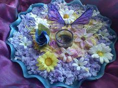 handmade candle disc