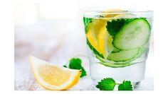 Agua de limón y pepino para bajar de peso rapidísimo