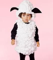 homemade sheep costumes