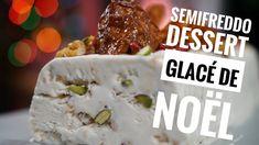 Dessert glacé de Noël léger Semifreddo ou Parfait