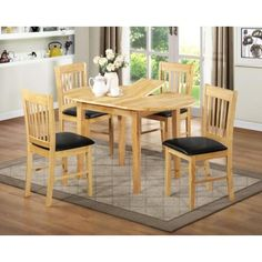 Charmant Chiltern Oak Extending Table With 4 Chairs Dining Set  Http://www.tradepricefurniture