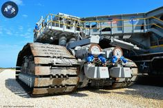 NASA's massive Crawler Transporter-2,...