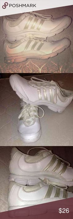 Adidas Dance Cheer Shoes 3D cushion 7 Entertainment shoes, can be used for dance, cheer or sports activities. Worn 1x for cheer for a few hours.  Very comfortable the insoul is  microfiber like cushion. adidas Shoes Athletic Shoes