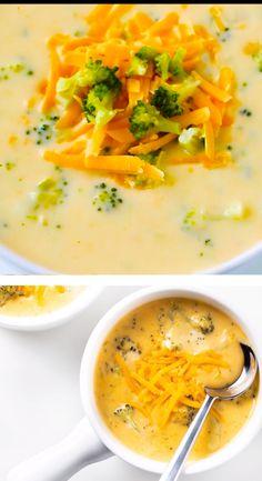 Low Carb Soup Recipes, Easy Soup Recipes, Ketogenic Recipes, Keto Recipes, Cooking Recipes, Healthy Recipes, Healthy Soup, Healthy Broccoli Soup, Healthy Recipe Videos