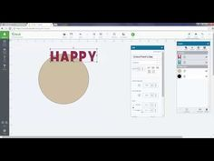 How to Curve Text In Cricut Design Space - YouTube