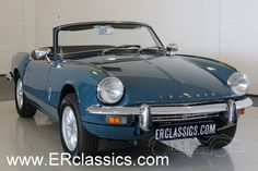 1968 Triumph, Spitfire  Triumph Spitfire MK3 1968 overdrive, body-off restored   The Spitfire was introduced on the London Motor Show and produced till 1980 by Triumph Motor Company. This is a 3rd generation (MKIII) o ..  http://www.collectioncar.com/detailed.php?ad=63740&category_id=1