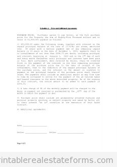 Free Printable Contract For Deed Sample Printable Landlords Rules And Regulations 2 Form  Printable .