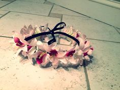 FLOWER headband - BOHO HIPPY Headband - Floral Hair Band - Crown headband on Etsy, $15.00