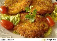Řízečky z vařených vajec recept - TopRecepty.cz Tandoori Chicken, Food And Drink, Cooking, Ethnic Recipes, Dupes, Hana, Dinner Ideas, Nails, Diet
