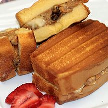 Check out this Sara Lee Dessert recipe I found at http://saraleedesserts.com/recipe/power-packed-paninis/