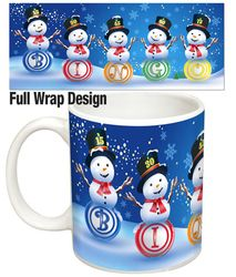 The Bingo Balls Snowmen Mug offers a High Quality New Christmas Mug Design. It's a Perfect Christmas Gift that will Bring Joy to Your Bingo Lover All Year. Christmas Bingo, Christmas Mugs, Perfect Christmas Gifts, Xmas, Snowman Mugs, Snowmen, Mug Designs, Balls, Joy