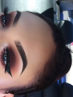 Smokey Eye Makeup Tutorial Pics – Makeup Forever King Of Prussia Mall other Make… - Prom Makeup Looks Kiss Makeup, Cute Makeup, Prom Makeup, Gorgeous Makeup, Pretty Makeup, Hair Makeup, Makeup Hairstyle, Hairstyle Ideas, Baddie Makeup