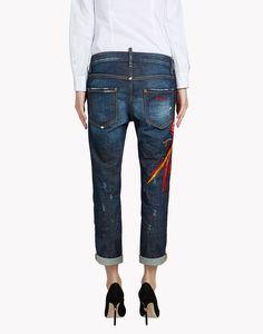 phoenix cool girl jeans denim Woman Dsquared2