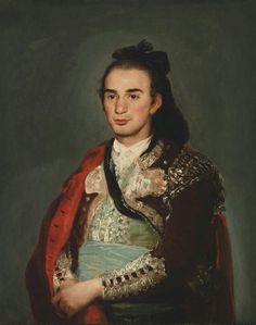 Portrait Of The Toreador José Romero, Francisco Goya Francisco Goya, Spanish Painters, Spanish Artists, Goya Paintings, Oil Portrait, Portrait Paintings, Portraits, Philadelphia Museum Of Art, Mexican Artists