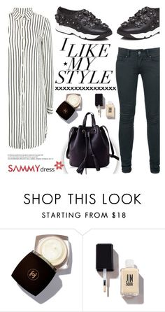"""I like my style"" by helenevlacho ❤ liked on Polyvore featuring H&M, Chanel, JINsoon, women's clothing, women, female, woman, misses, juniors and sammydress"
