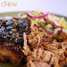 Mario Batali's Braised Pork Belly #TheChew