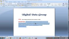 Digital Data Group offer to earning opportunity to some dedicated people in india. if you know about Facebook, Twitter, Linkedin, Google Plus etc. you can earn daily with social media. our social media work very simple and easy. please visit our website for more detail http://www.digitaldatagroup.in  or email us – info@digitaldatagroup.in