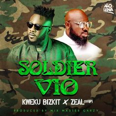 """Afrobeat artiste Kweku Bizkit honors Ghana's late president at large with his new single christened """"SOLDIER VIO"""". It's definitely one of the records you will always remember. They say it's one thing to do music and another thing to do it in honor of someone. Using the impactful run of... The post Kweku Bizkit – Soldier Vio (feat. Zeal) (Prod. By Mix Master Garzy) first appeared on Playlistgh."""