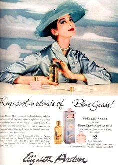 My Grandmother's other favorite. I remember it looking just like this, and how I loved that little pink talc poofer! :)