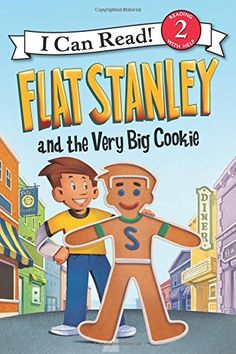 Flat Stanley and the Very Big Cookie (I Can Read Book 2) by Jeff Brown http://www.amazon.com/dp/0062189786/ref=cm_sw_r_pi_dp_FFB5vb131D3X8