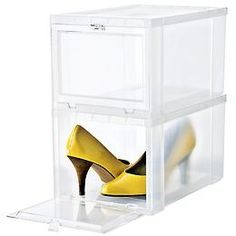 Drop-Front Shoe Box | SALE $5.99