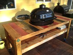 Primo XL Oval With Hand Made Table Crafted From Re Purposed