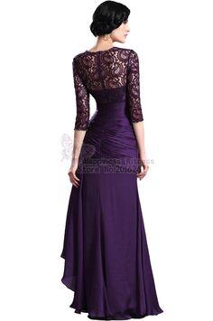Pix For > Purple Lace Bridesmaids Dresses