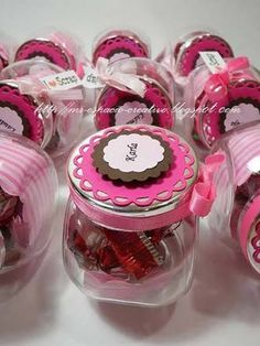 manualidades con frascos de gerber para cumpleaños - Buscar con Google