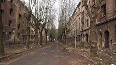 """Abandoned street """"Na Nivách"""" in Ústí nad Labem Czech Republic [2016x1136]"""