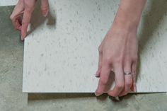 Weekend Project: DIY Tile Flooring So Super Easy With Grammar School Tiles!