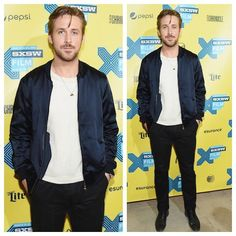 99b4b457a84 Ryan Gosling wears Dries Van Noten at Lost River SXSW Premiere
