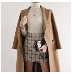 Adrette Outfits, Korean Outfits, Cute Casual Outfits, Fall Outfits, Korean Clothes, Plaid Skirt Outfits, Best Outfits, Looks Dark, Dark Look