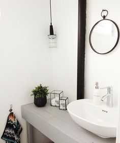 bathroom design home design Black White Bathrooms, White Bathroom Decor, Bathroom Styling, Bathroom Interior Design, Modern Bathroom, Minimalist Bathroom, Simple Bathroom, Bathroom Designs, Bathroom Ideas