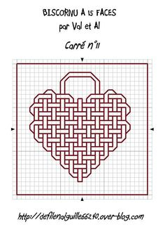 Embroidery heart design sew 36 Ideas for 2019 Celtic Cross Stitch, Blackwork Cross Stitch, Cross Stitch Heart, Cross Stitching, Motifs Blackwork, Blackwork Embroidery, Cross Stitch Embroidery, Graph Paper Drawings, Graph Paper Art