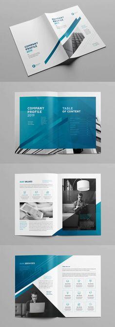 Modern Company Profile Template INDD Company Profile Design Templates, Print Templates, Brochure Design, Software, Modern, Card Templates Printable, Flyer Design, Trendy Tree, Leaflet Design