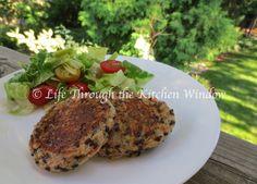 Salmon, Potato & Lentil Cakes⎮ © Life Through the Kitchen Window Salmon Potato, Urban Cottage, Plant Based Eating, Lentils, Poultry, Steak, Veggies, Potatoes, Window