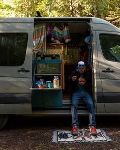 "437 Likes, 4 Comments - Two birds in a Sprinter Van (@aves_sin_rumbo) on Instagram: ""After our long weekend at the @arcteryx Climbing Academy, we hopped in the van and pointed it back…"""