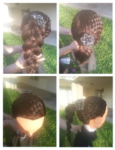 Stunning BRAIDS done by students at our beauty school in San Antonio.  To see more styles check out our pictures at www.Facebook.com/BellaBeautyCollege