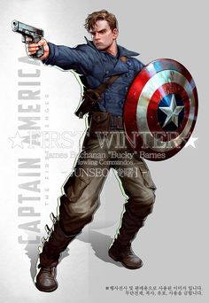 Captain America / Marvel Comics: Bucky Barnes, the Winter Soldier
