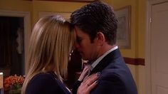 #EJami #Days @Days of our Lives Forehead lean. No words, but so much meaning! #PrideAndPrejudice moment!