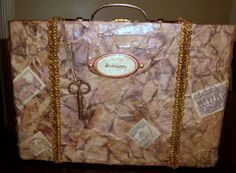Craft-T-Creations: Altered Cigar Box