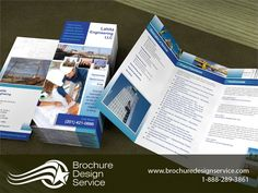 TriFold Brochure Design For Roofing Company  Posts