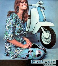 Lambretta Calendar, Nov-Dec 1967 | wearing Pucci