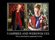 Buffy - Vampires and Werewolves - by ~RamblingRogue on deviantART    OMG was so in love with spike